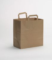 Flat Handle Grocery bag